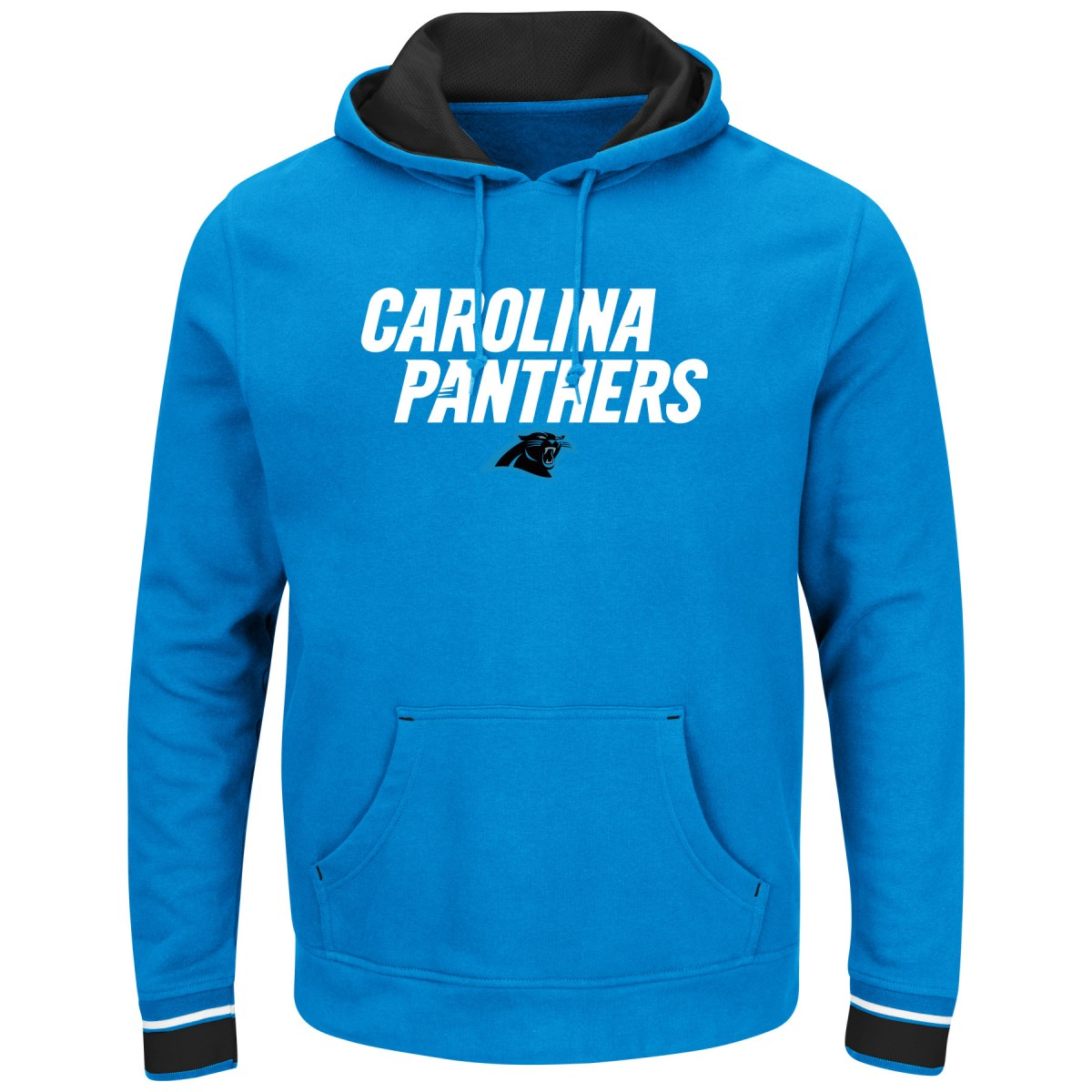 "Carolina Panthers Majestic NFL ""Championship"" Men's Pullover Hooded Sweatshirt"