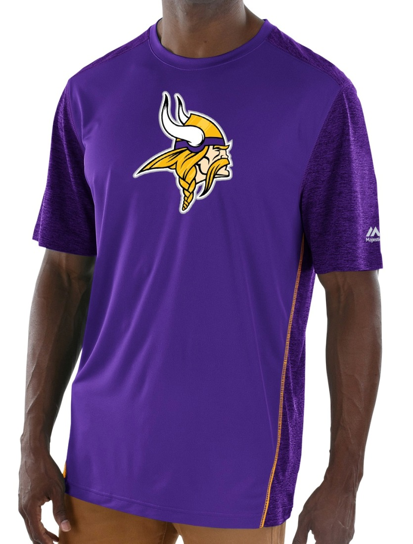 "Minnesota Vikings Majestic NFL ""Unmatched"" Men's S/S Performance Shirt"