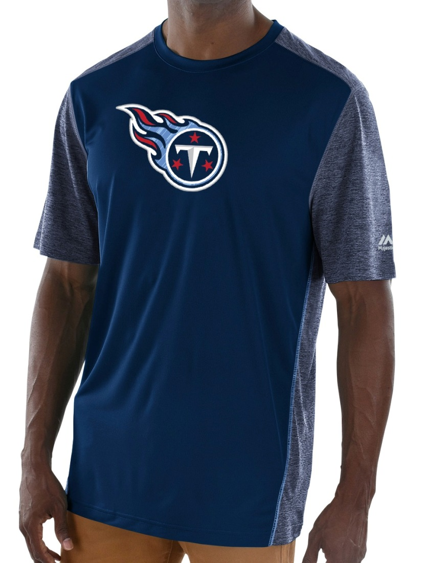 "Tennessee Titans Majestic NFL ""Unmatched"" Men's S/S Performance Shirt"