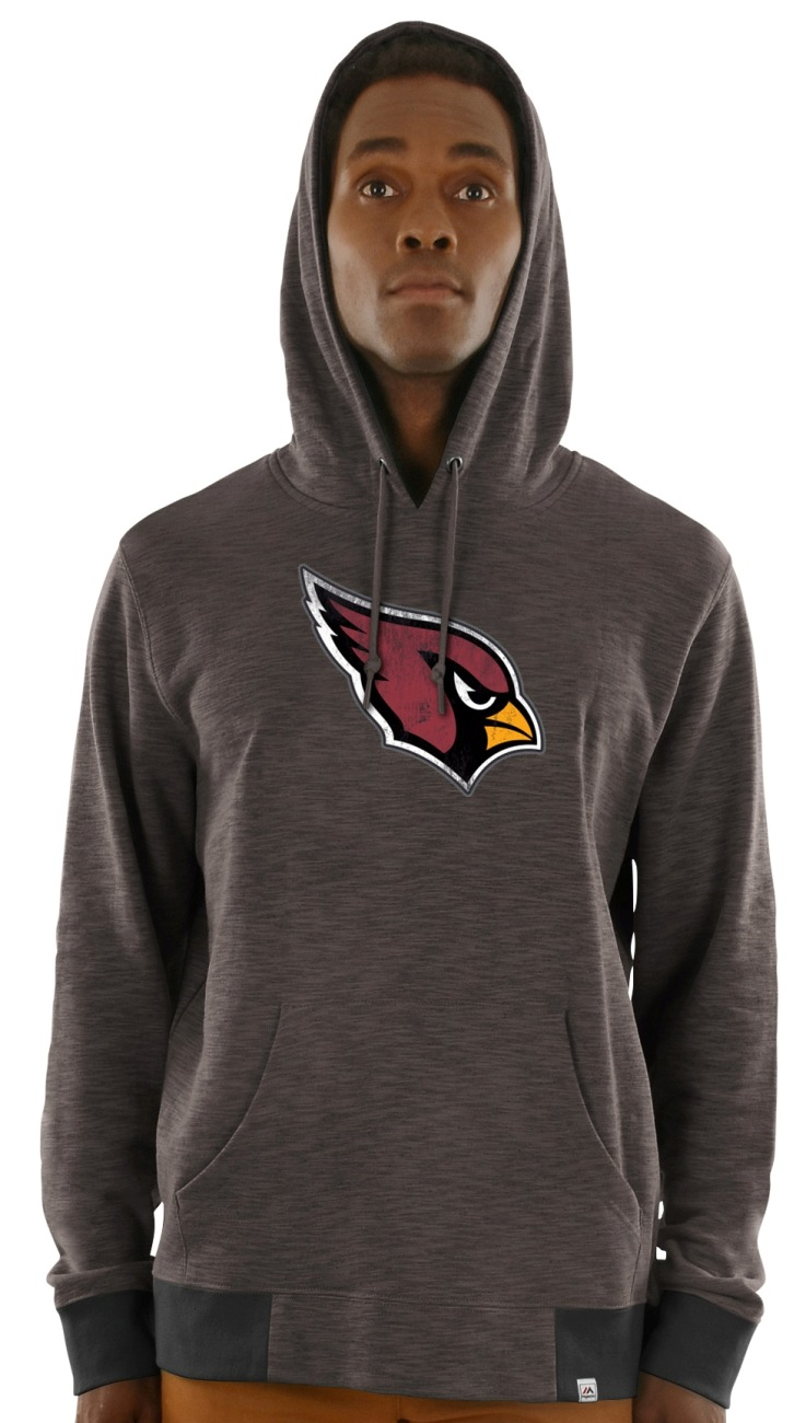 "Arizona Cardinals Majestic NFL ""Gameday 2"" Men's Pullover Hooded Sweatshirt"