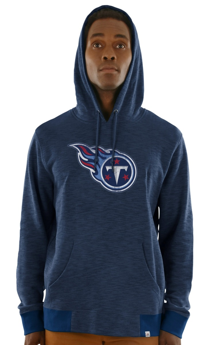 "Tennessee Titans Majestic NFL ""Gameday 2"" Men's Pullover Hooded Sweatshirt"