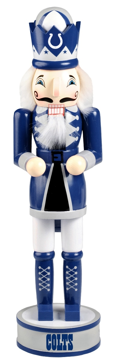"Indianapolis Colts 2014 NFL 14"" Holiday Nutcracker"