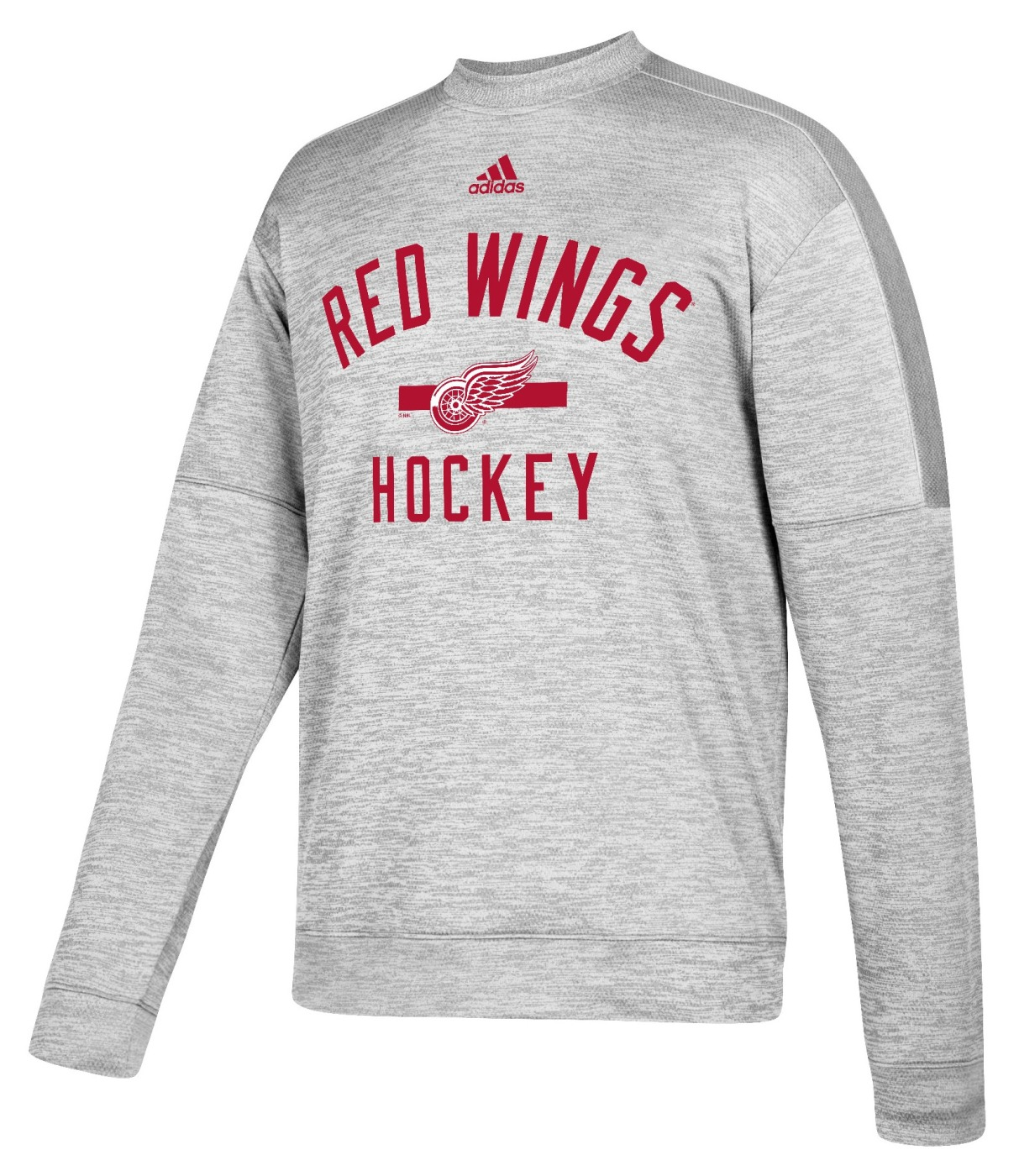 "Detroit Red Wings Adidas NHL Men's ""Archer"" Crewneck Fleece Sweatshirt"