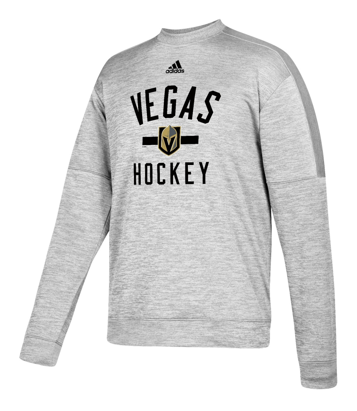 "Las Vegas Golden Knights Adidas NHL Men's ""Archer"" Crewneck Fleece Sweatshirt"