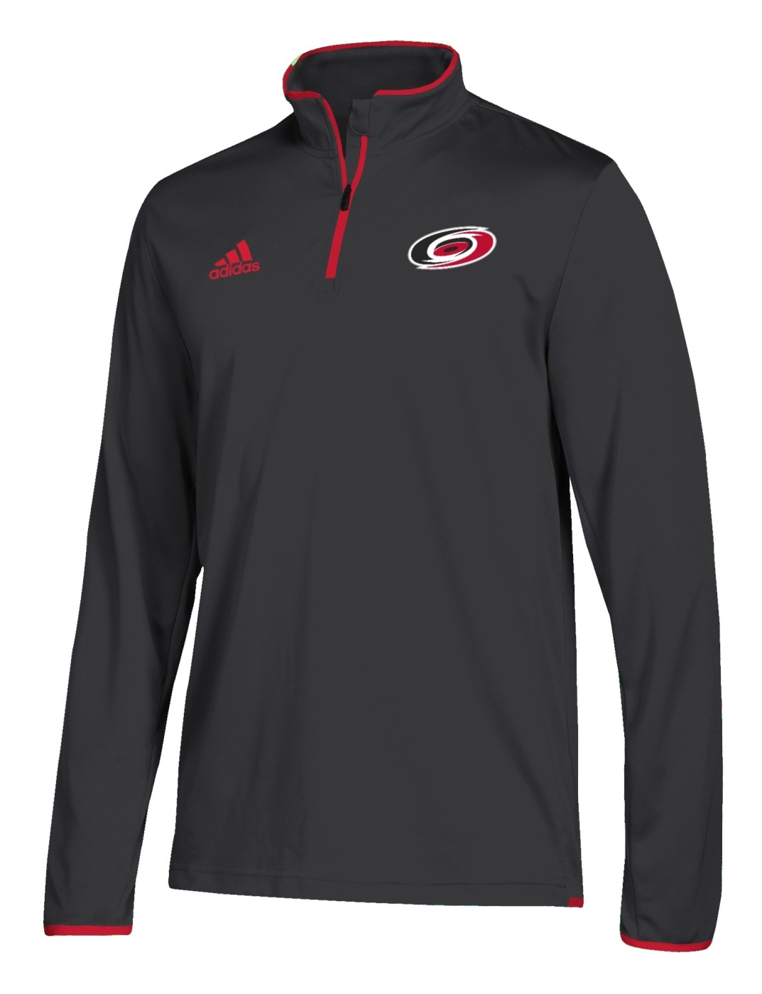 Carolina Hurricanes Adidas NHL Men's 2018 Authentic Pro 1/4 Zip Wind Shirt