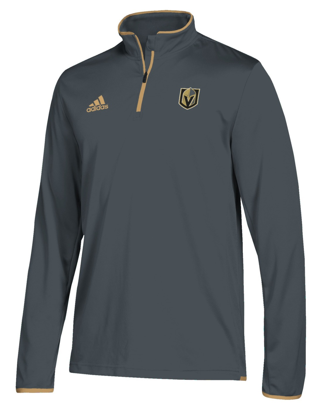 Las Vegas Golden Knights Adidas NHL Men's 2018 Authentic Pro 1/4 Zip Wind Shirt