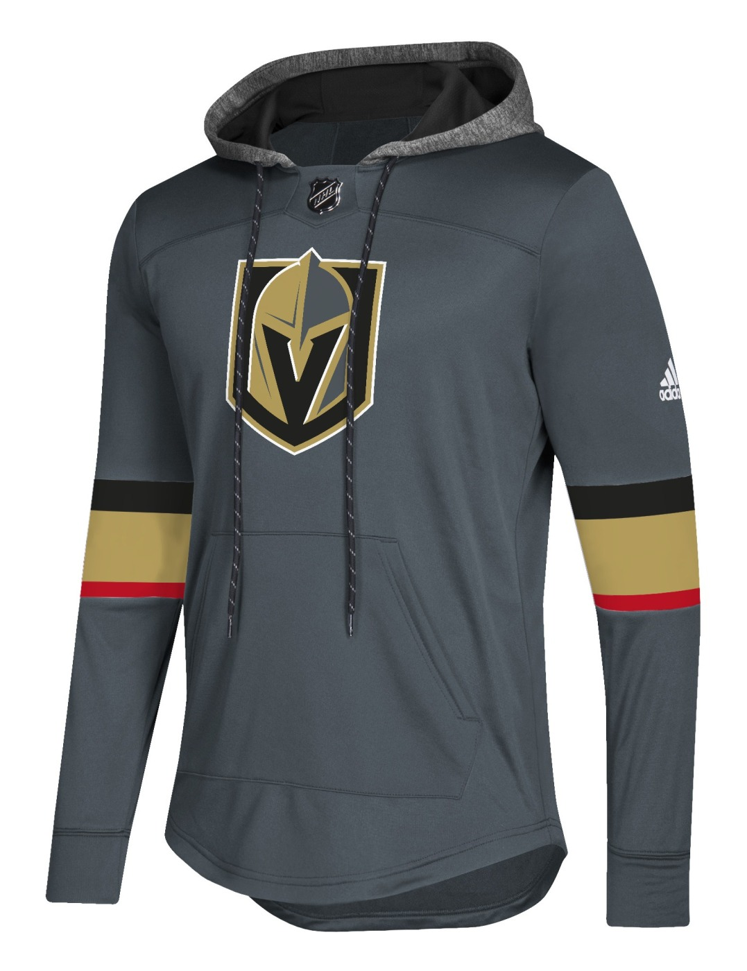 "Las Vegas Golden Knights Adidas NHL Men's ""Blue Line"" Premium Hooded Sweatshirt"