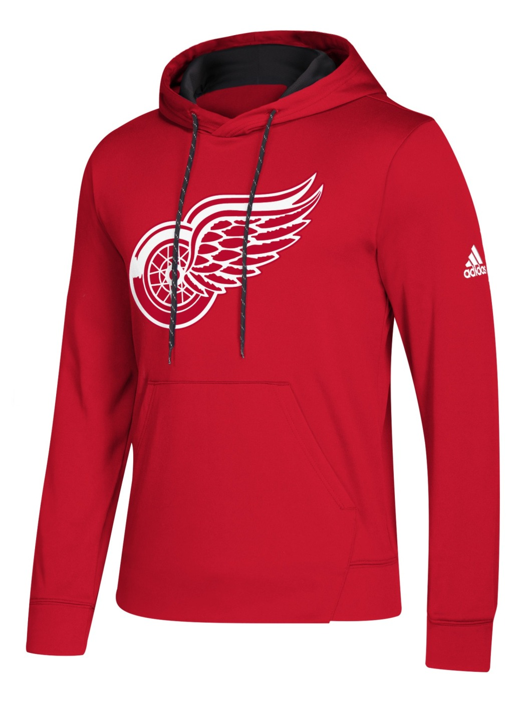 "Detroit Red Wings Adidas NHL Men's ""Goalie"" Pullover Hooded Sweatshirt"
