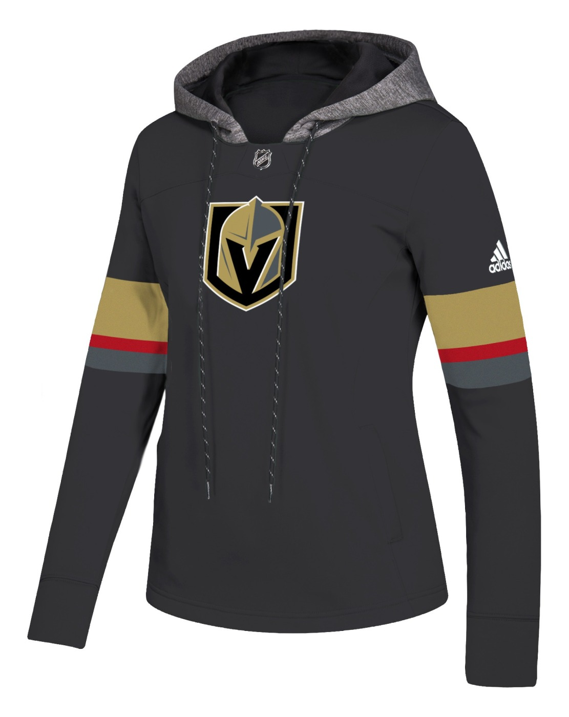 "Las Vegas Golden Knights Women's NHL Adidas ""Offsides"" Premium Hooded Sweatshirt"