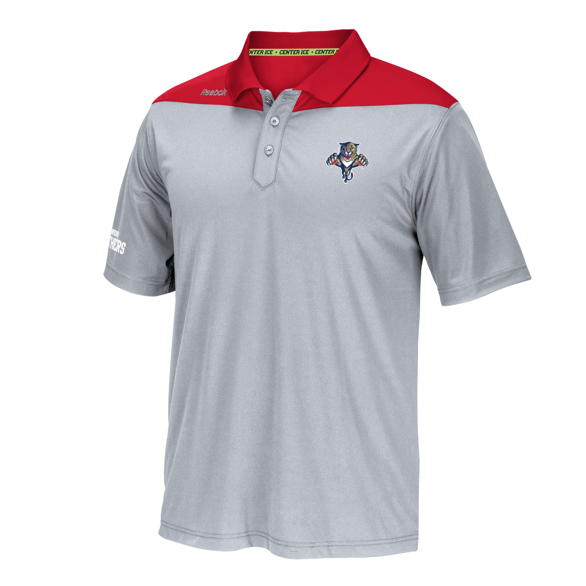"Florida Panthers Reebok NHL 2016 Center Ice ""Statement"" Speedwick Polo Shirt"