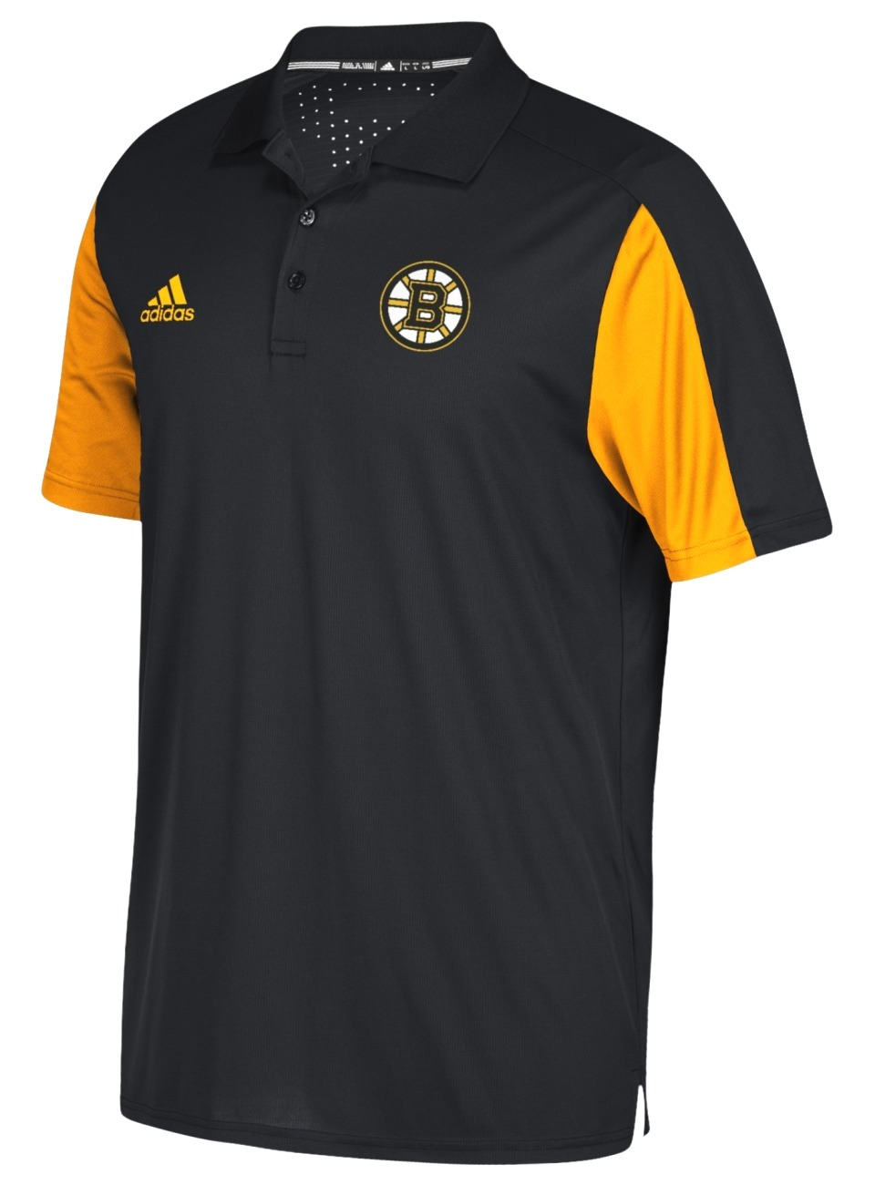Boston Bruins Adidas NHL Men's 2017 Authentic Game Day Polo Shirt