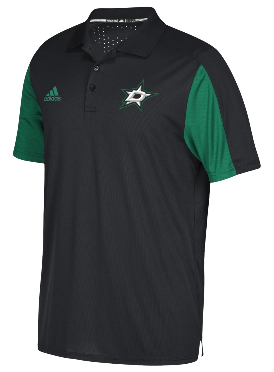 Dallas Stars Adidas NHL Men's 2017 Authentic Game Day Polo Shirt