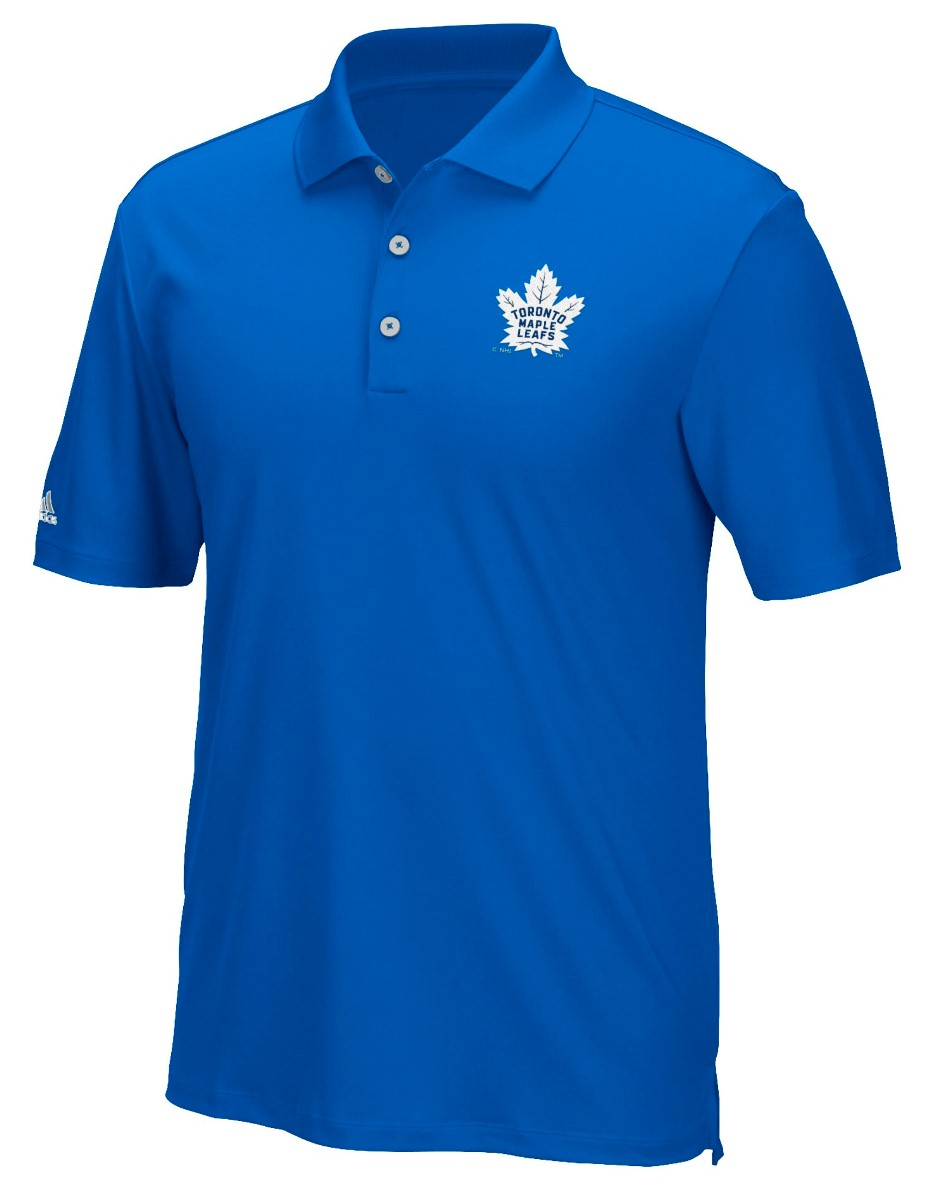 "Toronto Maple Leafs Adidas NHL Men's ""Performance"" Climacool Polo Shirt"