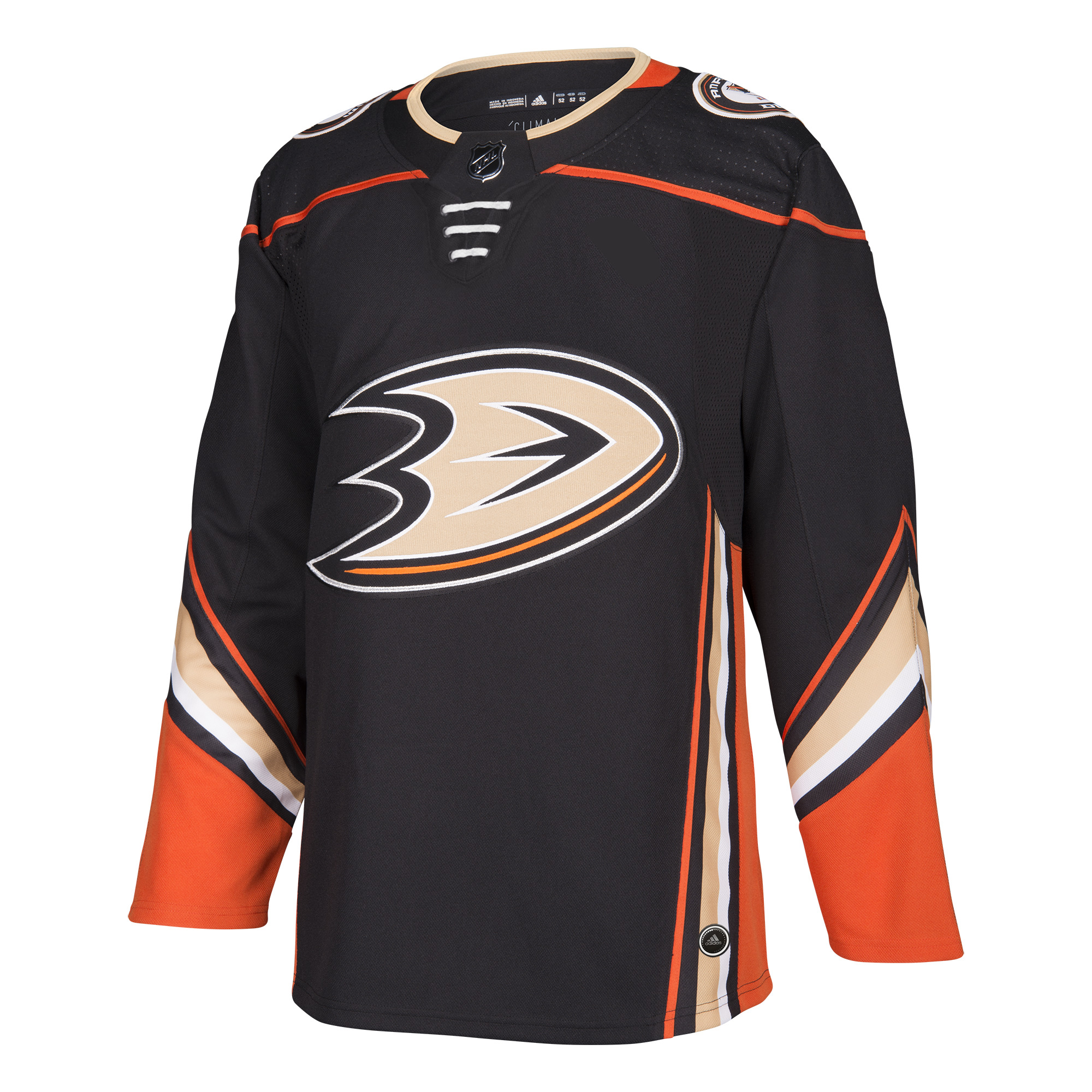 Anaheim Ducks Adidas NHL Men's Climalite Authentic Team Hockey Jersey