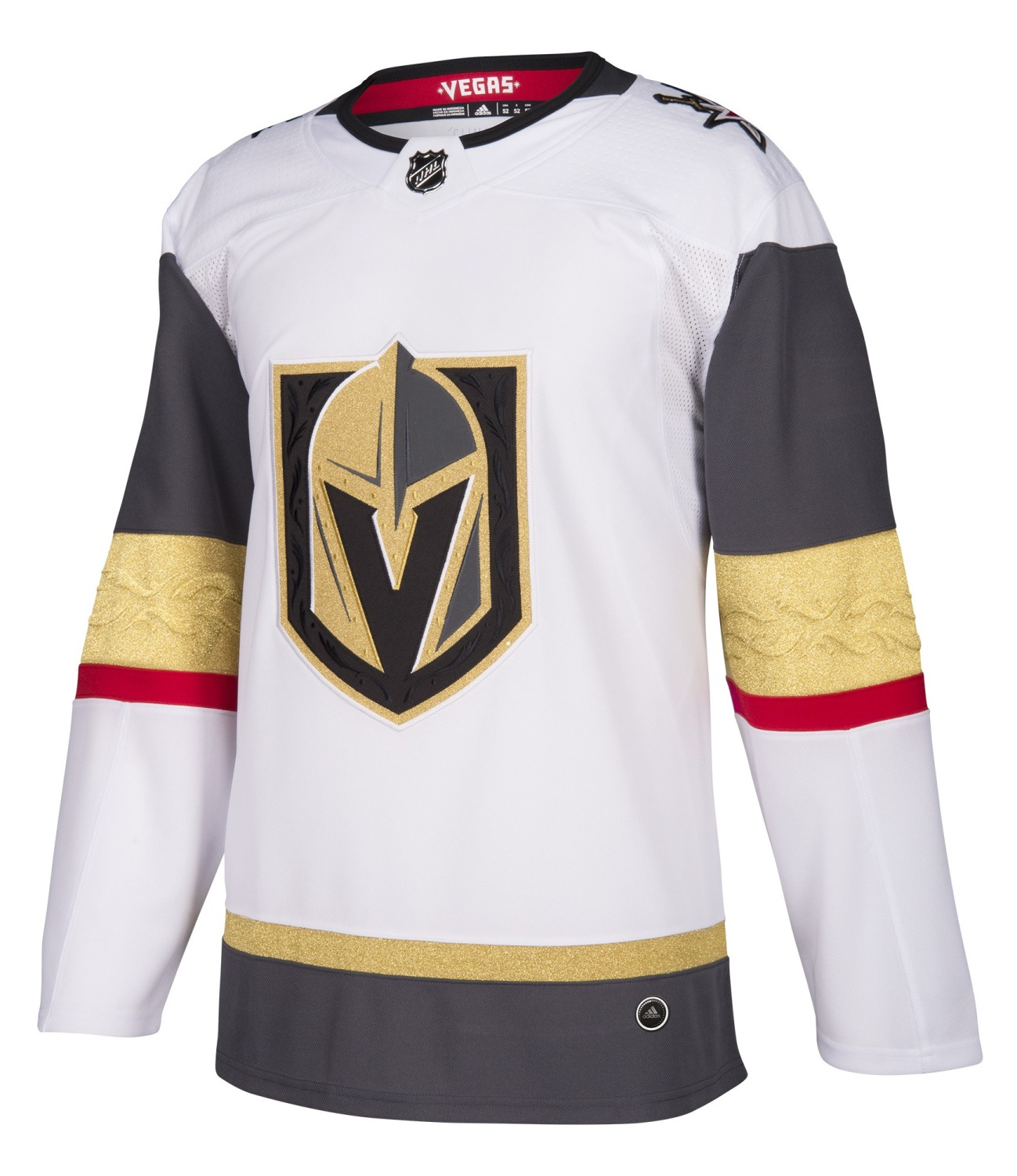 Las Vegas Golden Knights Adidas NHL Men's Climalite Authentic Away Hockey Jersey