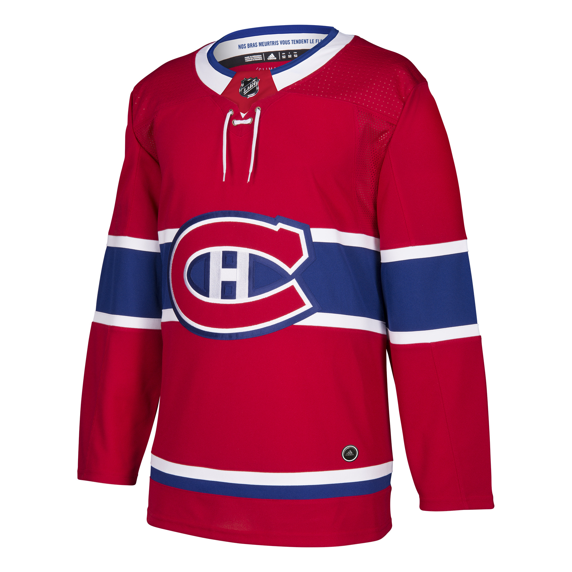 Montreal Canadiens Adidas NHL Men's Climalite Authentic Team Hockey Jersey