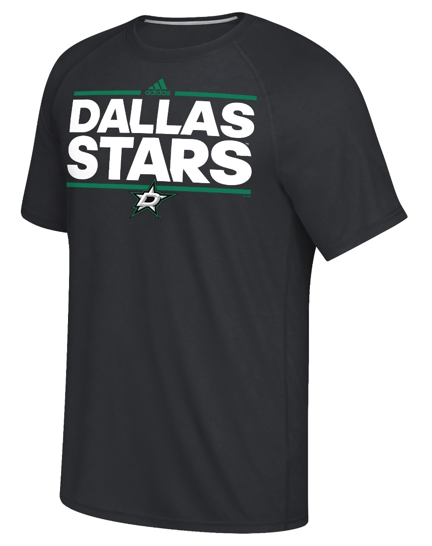 "Dallas Stars Adidas NHL ""Dassler"" Climalite Performance S/S T-Shirt"