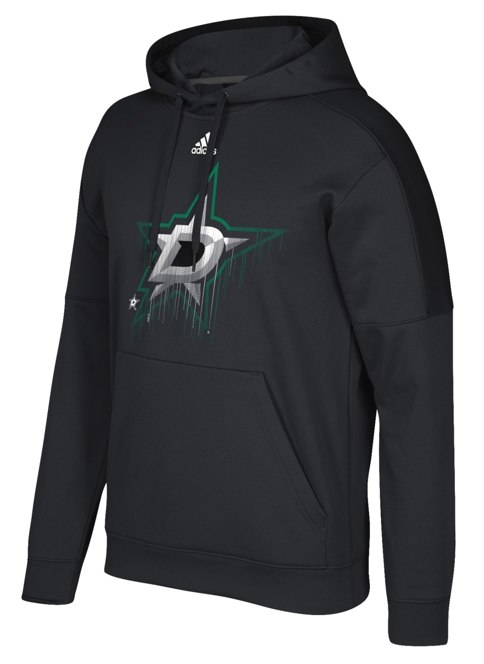"Dallas Stars Adidas NHL Men's ""Drifting"" Pullover Hooded Sweatshirt"