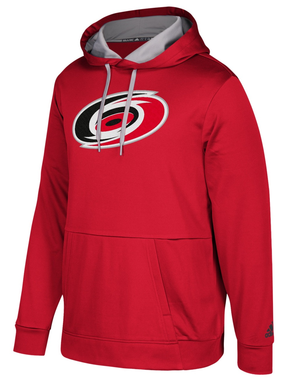 "Carolina Hurricanes Adidas NHL Men's ""Checking"" Pullover Hooded Sweatshirt"
