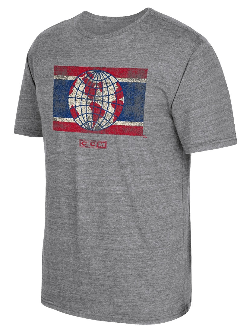 "Montreal Canadiens CCM ""Heritage Alternate"" Distressed Premium Tri-Blend T-Shirt"