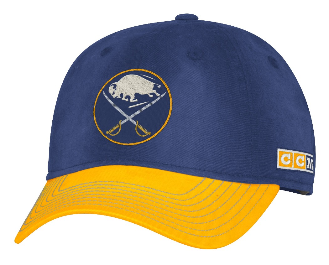 "Buffalo Sabres CCM NHL ""Classic"" Sun Bleached Slouch Adjustable Hat"
