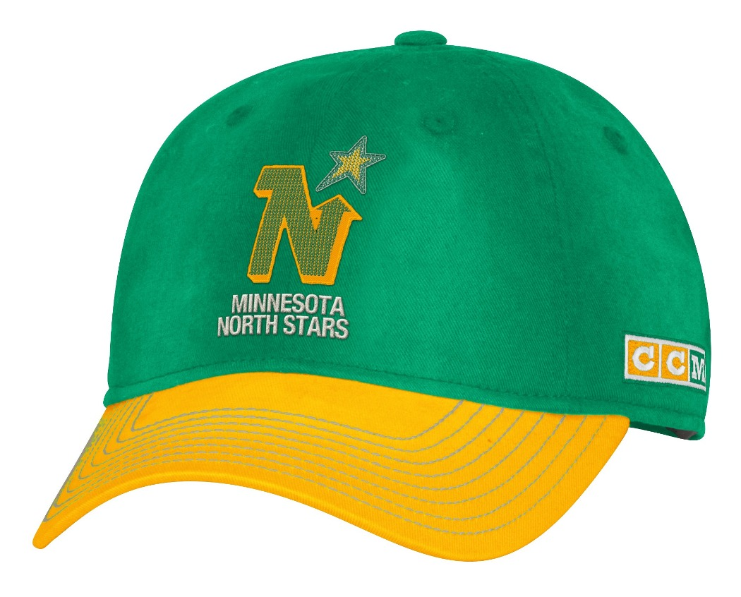 "Minnesota North Stars CCM NHL ""Classic"" Sun Bleached Slouch Adjustable Hat"