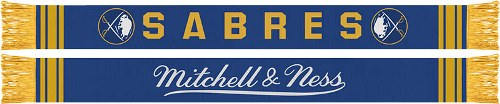 Buffalo Sabres Mitchell & Ness NHL Vintage Team Premium Scarf