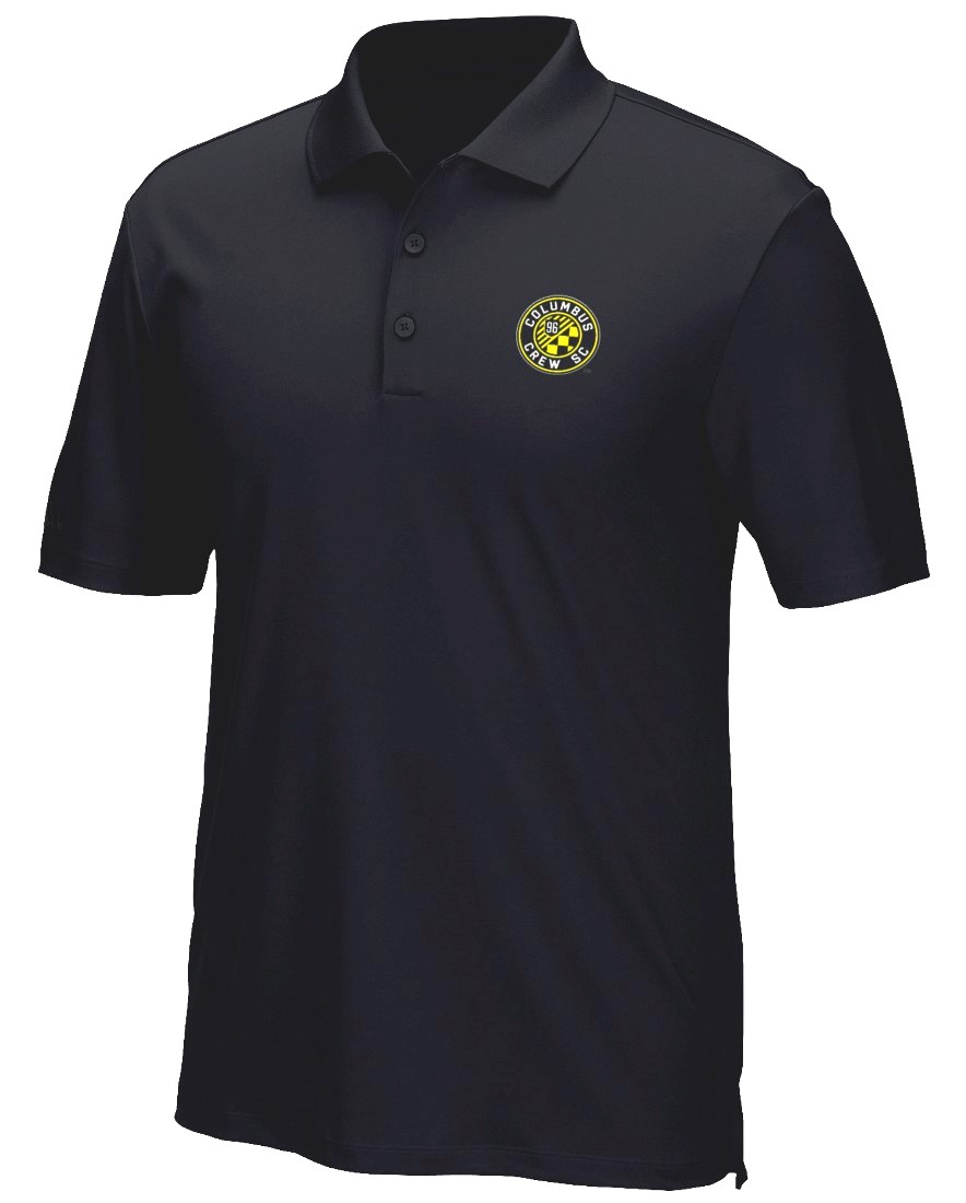 "Columbus Crew Adidas MLS Men's ""Performance"" Climacool Polo Shirt"