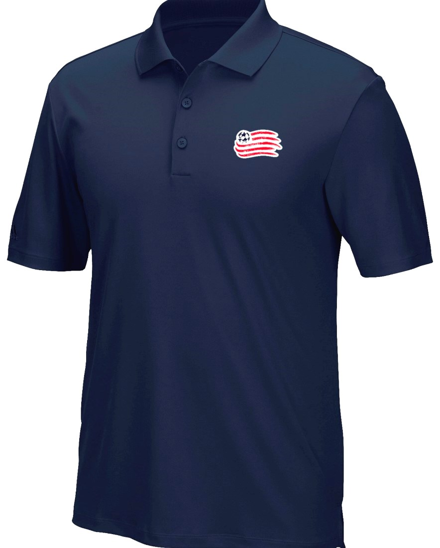 "New England Revolution Adidas MLS Men's ""Performance"" Climacool Polo Shirt"
