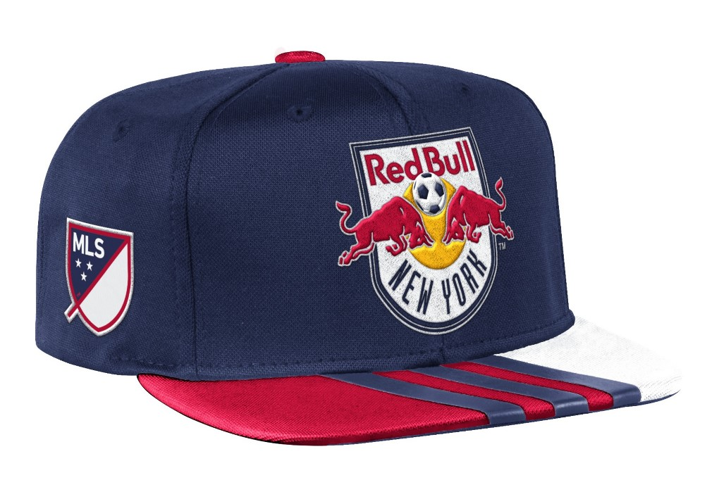 New York Red Bulls Adidas MLS 2017 Authentic Team Performance Snap Back Hat