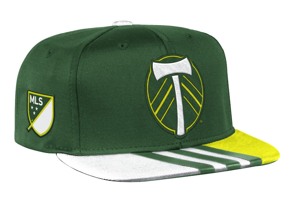 Portland Timbers Adidas MLS 2017 Authentic Team Performance Snap Back Hat