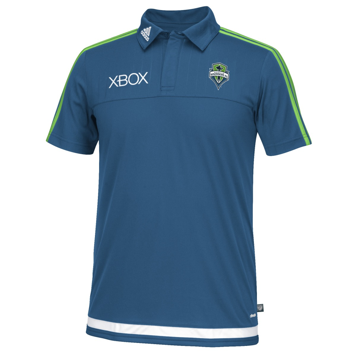 Seattle Sounders Adidas MLS Climacool Authenic On Field Polo Shirt