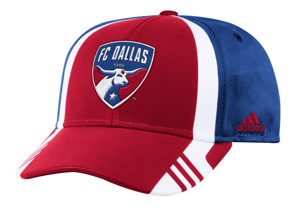 FC Dallas Adidas MLS 2017 Authentic Team Structured Adjustable Hat