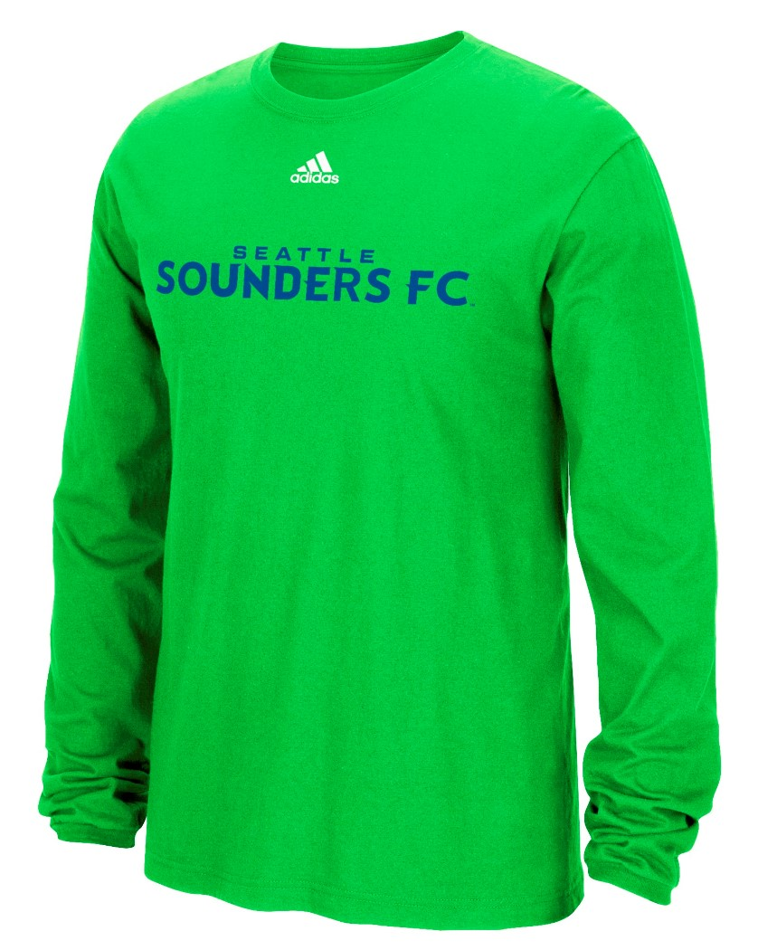 "Seattle Sounders Adidas MLS ""Primary One"" Men's Long Sleeve T-Shirt"