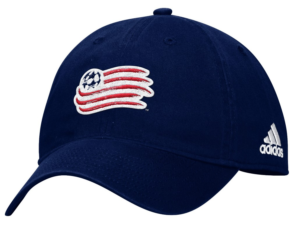 "New England Revolution Adidas MLS ""Team Basics"" Slouch Adjustable Hat - Navy"