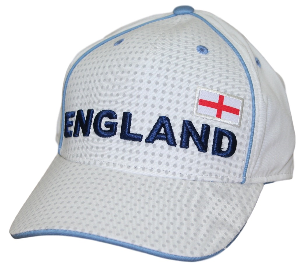 "Team England World Cup Soccer Federation ""Printed"" Structured Adjustable Hat"