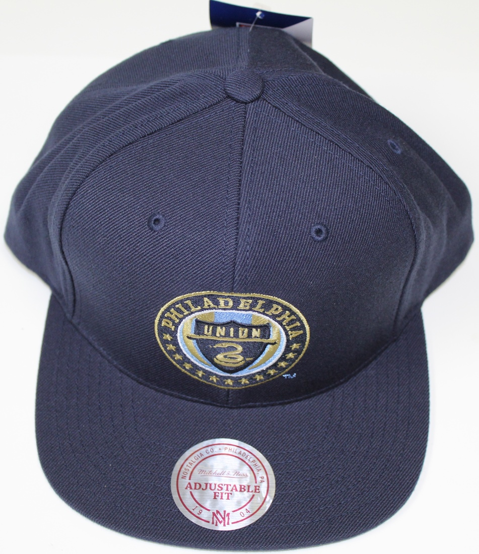"Philadelphia Union MLS Mitchell & Ness ""Team Solid"" Snap Back Hat"