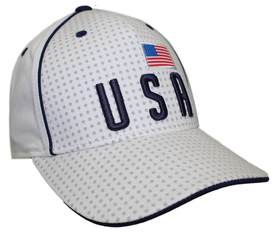 "Team USA World Cup Soccer Federation ""Printed"" Structured Adjustable Hat"