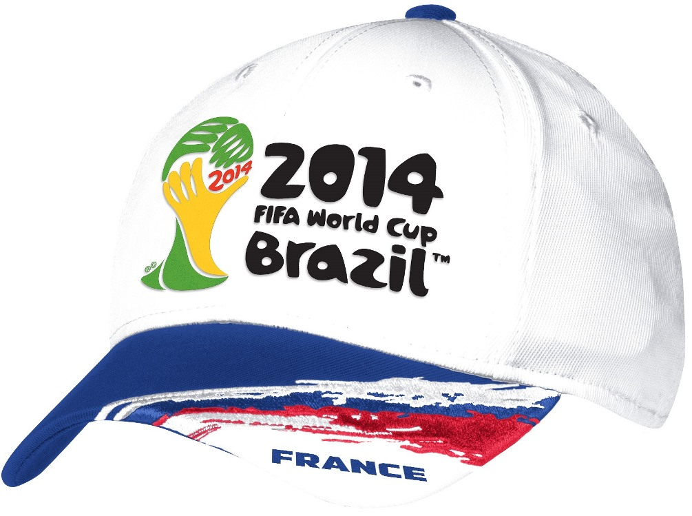 France Adidas 2014 FIFA World Cup Structured Flex Hat - White