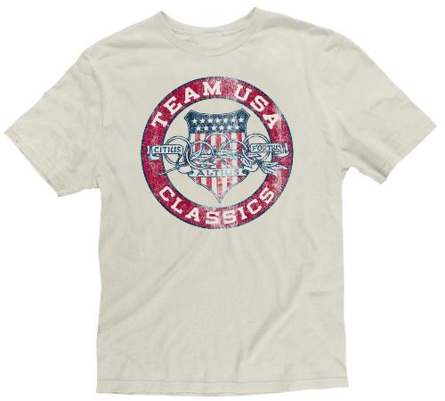 "Team USA Olympic Games ""Retro Ring"" Classics Premium T-shirt"