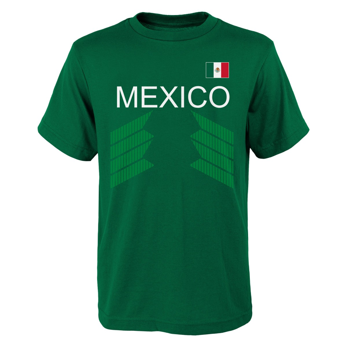 "Team Mexico World Cup Soccer Federation ""One Team"" Men's T-Shirt"