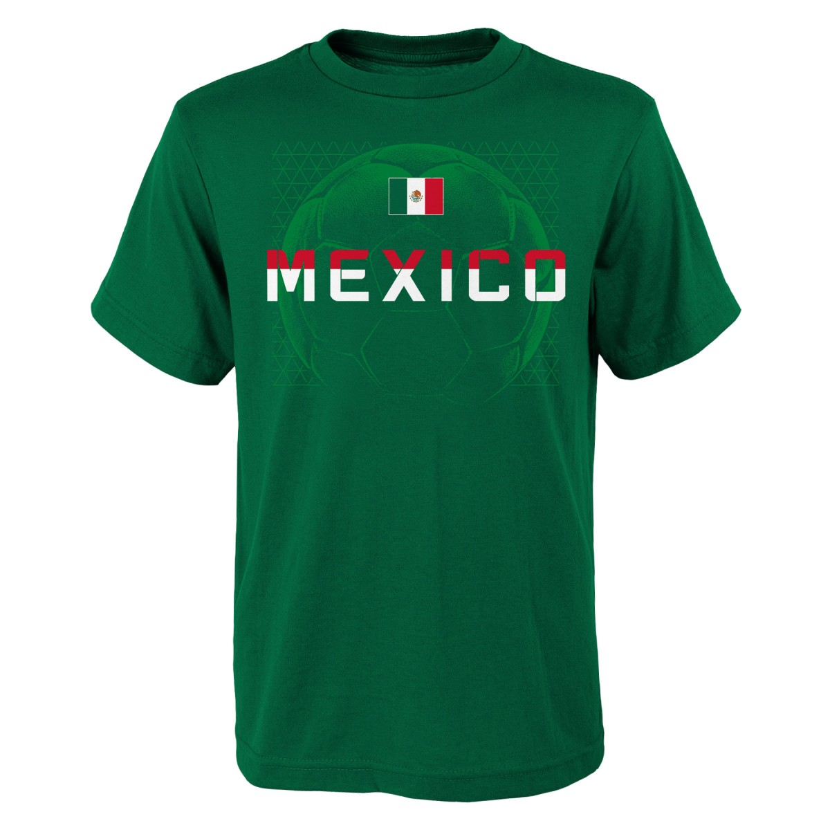 "Team Mexico World Cup Soccer Federation ""Penalty Kick"" Men's T-Shirt"