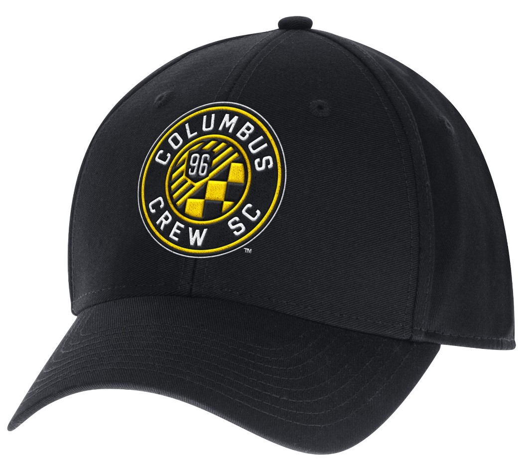 "Columbus Crew Adidas MLS ""Team Basics"" Structured Adjustable Hat"