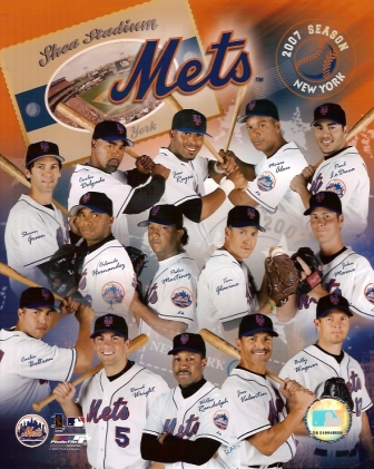 2007 New York Mets Team 8x10 Color Photo