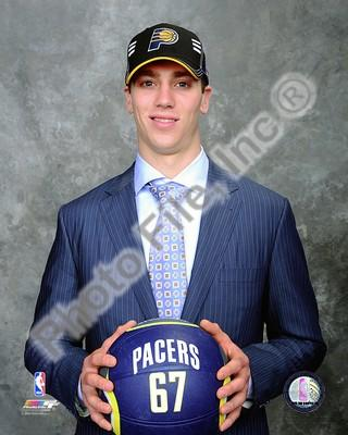 Tyler Hansborough 2009 NBA Draft Pacers 8x10 Photo