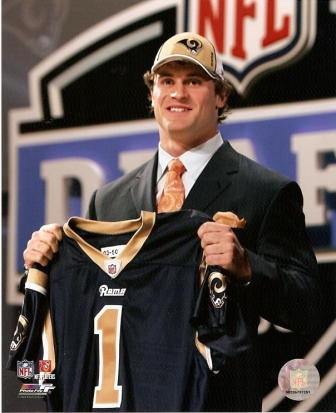Chris Long Rams NFL Draft 8x10 Photo