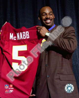 Donovan McNabb Redskins Press Conference 8x10 Photo