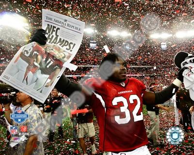Edgerrin James Cardinals NFC Championship 8x10 Photo