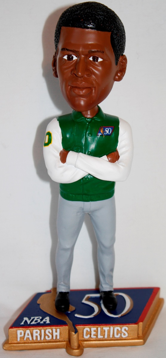 Robert Parish Boston Celtics NBA 50 Greatest Commemorative Bobble Head