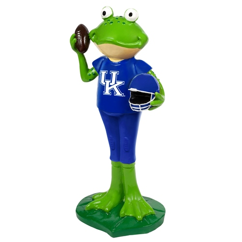 Kentucky Wildcats NCAA 12 Inch Frog Player Figurine